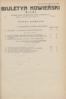 Biuletyn Kowieński Wilbi. 1935, nr 1318 (8 lipca)
