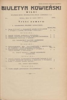 Biuletyn Kowieński Wilbi. 1935, nr 1320 (11 lipca)
