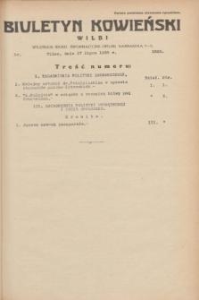 Biuletyn Kowieński Wilbi. 1935, nr 1323 (17 lipca)