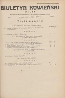 Biuletyn Kowieński Wilbi. 1935, nr 1324 (18 lipca)