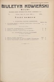 Biuletyn Kowieński Wilbi. 1935, nr 1326 (20 lipca)