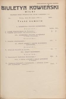 Biuletyn Kowieński Wilbi. 1935, nr 1328 (23 lipca)