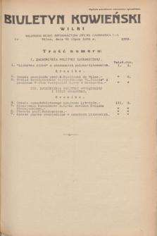 Biuletyn Kowieński Wilbi. 1935, nr 1329 (29 lipca)