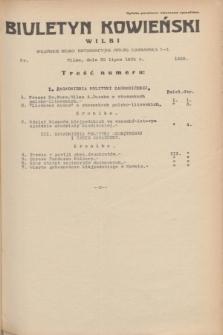 Biuletyn Kowieński Wilbi. 1935, nr 1330 (30 lipca)