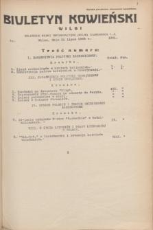 Biuletyn Kowieński Wilbi. 1935, nr 1331 (31 lipca)
