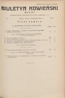 Biuletyn Kowieński Wilbi. 1935, nr 1332 (1 sierpnia)