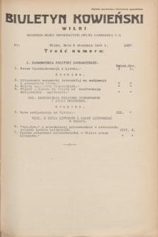 Biuletyn Kowieński Wilbi. 1935, nr 1337 (9 sierpnia)