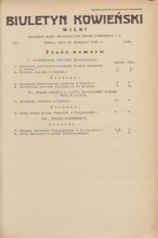 Biuletyn Kowieński Wilbi. 1935, nr 1338 (10 sierpnia)