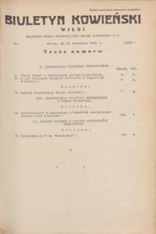 Biuletyn Kowieński Wilbi. 1935, nr 1339 (13 sierpnia)