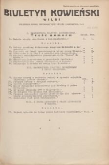 Biuletyn Kowieński Wilbi. 1935, nr 1341 ([16 sierpnia])