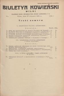 Biuletyn Kowieński Wilbi. 1935, nr 1342 (17 sierpnia)