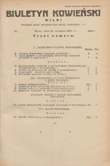 Biuletyn Kowieński Wilbi. 1935, nr 1344 (21 sierpnia)