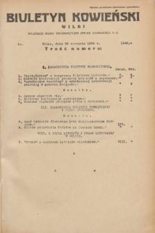 Biuletyn Kowieński Wilbi. 1935, nr 1346 (23 sierpnia)