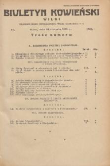 Biuletyn Kowieński Wilbi. 1935, nr 1348 (28 sierpnia)
