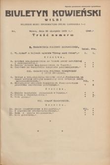 Biuletyn Kowieński Wilbi. 1935, nr 1349 (29 sierpnia)
