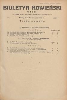 Biuletyn Kowieński Wilbi. 1935, nr 1350 (30 sierpnia)