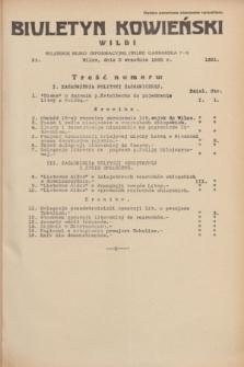 Biuletyn Kowieński Wilbi. 1935, nr 1351 (2 września)