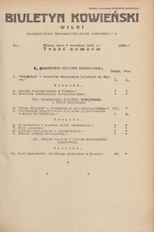Biuletyn Kowieński Wilbi. 1935, nr 1352 (4 września)