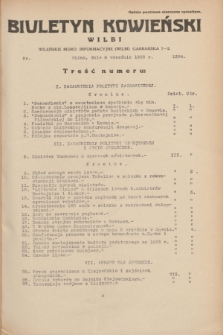 Biuletyn Kowieński Wilbi. 1935, nr 1354 (9 września)