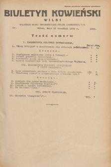 Biuletyn Kowieński Wilbi. 1935, nr 1355 (12 września)