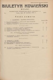 Biuletyn Kowieński Wilbi. 1935, nr 1357 (18 września)