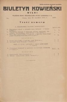 Biuletyn Kowieński Wilbi. 1935, nr 1358 (20 września)
