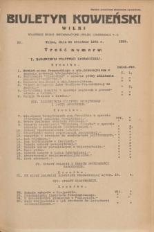 Biuletyn Kowieński Wilbi. 1935, nr 1359 (23 września)