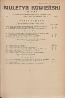 Biuletyn Kowieński Wilbi. 1935, nr 1360 (25 września)