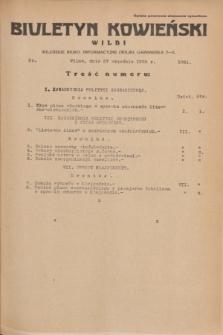 Biuletyn Kowieński Wilbi. 1935, nr 1361 (27 września)
