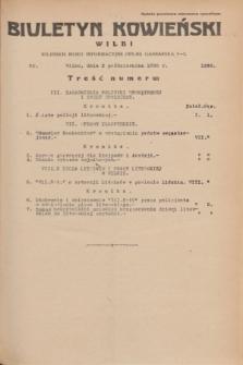 Biuletyn Kowieński Wilbi. 1935, nr 1363 (2 października)