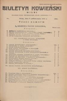 Biuletyn Kowieński Wilbi. 1935, nr 1364 (3 października)