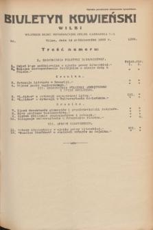 Biuletyn Kowieński Wilbi. 1935, nr 1368 (14 października)