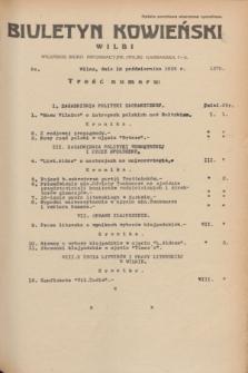 Biuletyn Kowieński Wilbi. 1935, nr 1370 (18 października)