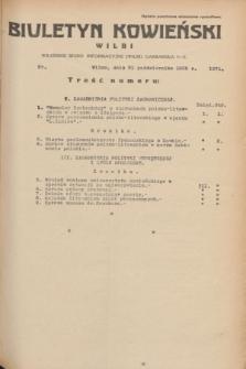 Biuletyn Kowieński Wilbi. 1935, nr 1371 (21 października)