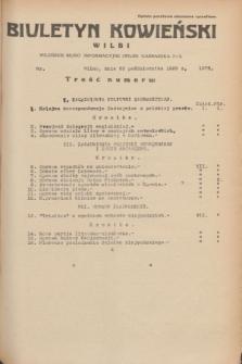 Biuletyn Kowieński Wilbi. 1935, nr 1372 (23 października)