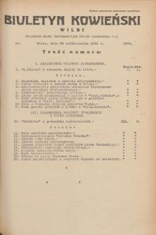Biuletyn Kowieński Wilbi. 1935, nr 1374 (28 października)