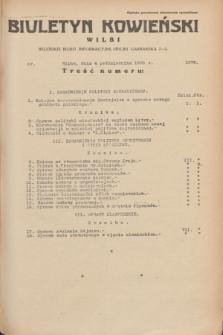 Biuletyn Kowieński Wilbi. 1935, nr 1376 (4 października)