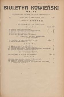 Biuletyn Kowieński Wilbi. 1935, nr 1378 (8 października)