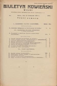 Biuletyn Kowieński Wilbi. 1935, nr 1380 (13 listopada)