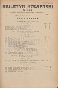 Biuletyn Kowieński Wilbi. 1935, nr 1382 (18 listopada)