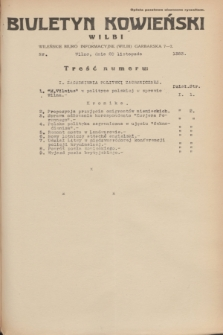 Biuletyn Kowieński Wilbi. 1935, nr 1383 (20 listopada)