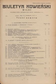 Biuletyn Kowieński Wilbi. 1935, nr 1385 (25 listopada)