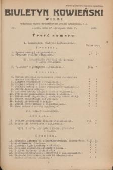 Biuletyn Kowieński Wilbi. 1935, nr 1386 (27 listopada)