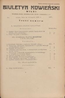 Biuletyn Kowieński Wilbi. 1935, nr 1387 (29 listopada)