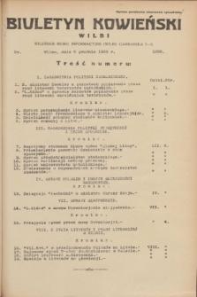 Biuletyn Kowieński Wilbi. 1935, nr 1388 (2 grudnia)