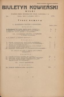 Biuletyn Kowieński Wilbi. 1935, nr 1389 (4 grudnia)
