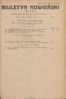 Biuletyn Kowieński Wilbi. 1935, nr 1390 (6 grudnia)
