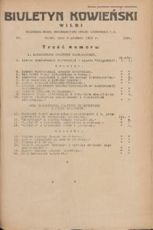 Biuletyn Kowieński Wilbi. 1935, nr 1391 (9 grudnia)