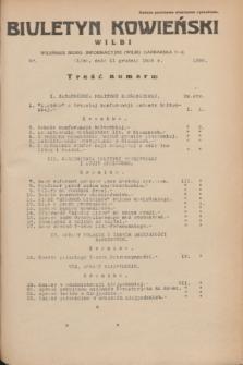 Biuletyn Kowieński Wilbi. 1935, nr 1392 (11 grudnia)