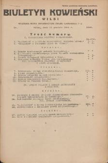 Biuletyn Kowieński Wilbi. 1935, nr 1393 (13 grudnia)